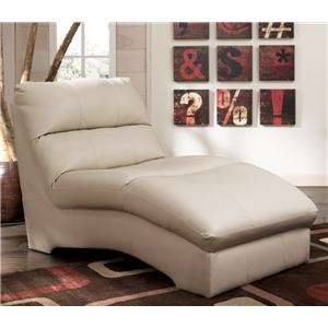 Signature Design by Ashley DuraBlend - Cream Chaise