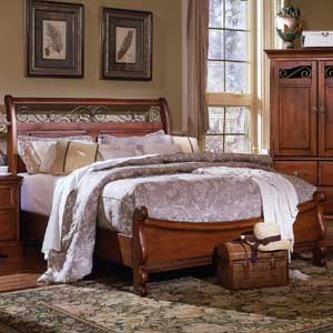 Exceptionnel Brazil Furniture Group La Frontera Sleigh Bed