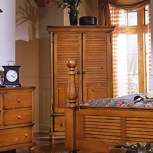 Brazil Furniture Group Irish Countryside Entertainment Wardrobe or Armoire