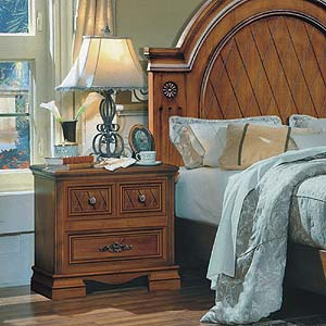 Brazil Furniture Group Rome Two Drawer Nightstand