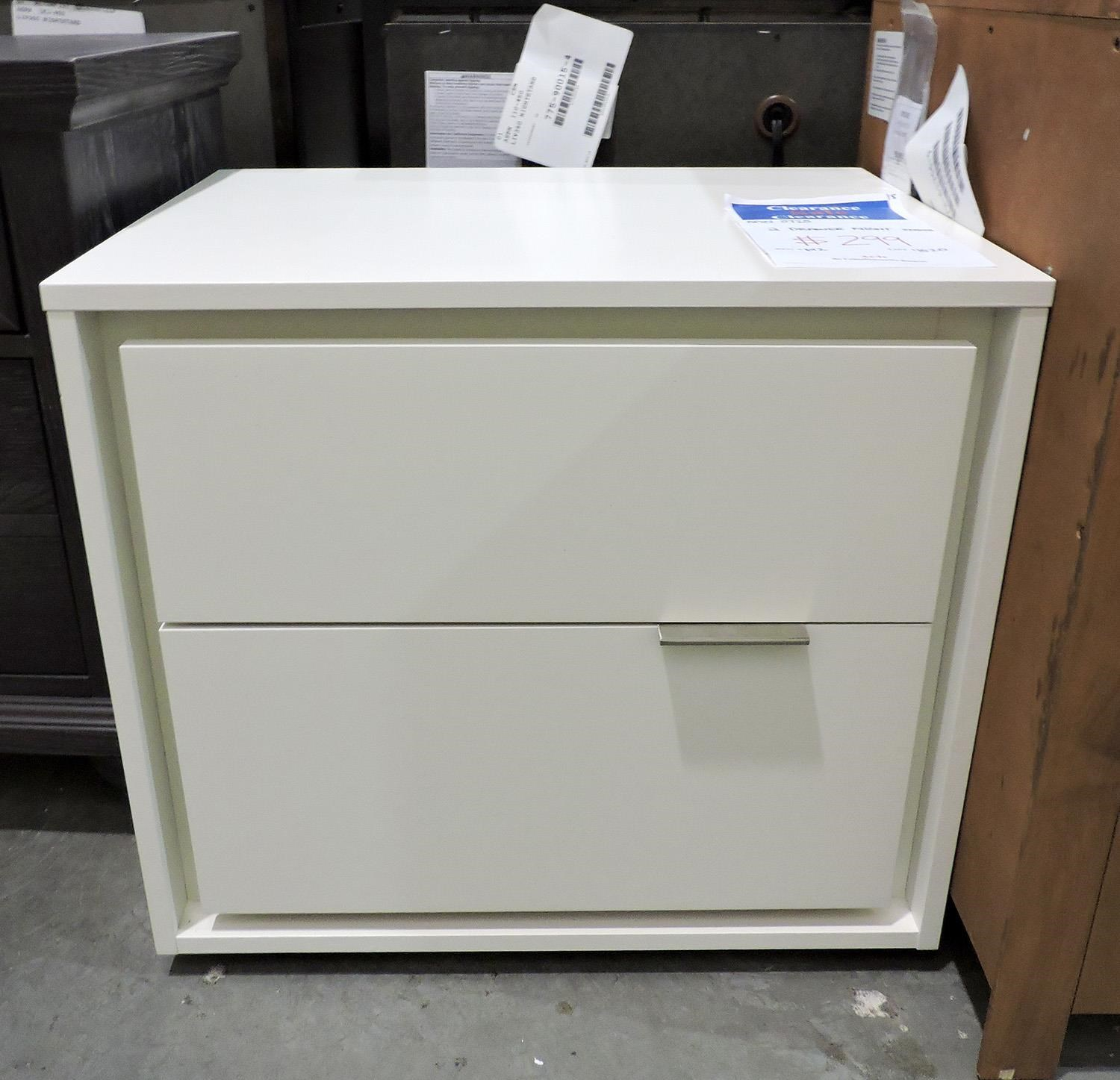 Miscellaneous Clearance 2 Drawer Night Stand - Item Number: 072500817