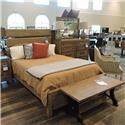 Miscellaneous Clearance Queen Plank Bed - Item Number: 082549000