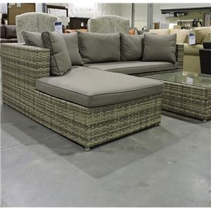Miscellaneous Clearance Outdoor Sectional Group