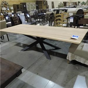 Miscellaneous Clearance Raw Oak Dining Table