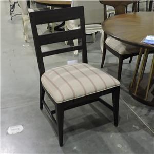 Miscellaneous Clearance Fumed Oak Side Chair