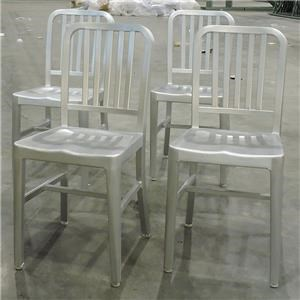 Miscellaneous Clearance Aluminum Dining Side Chairs