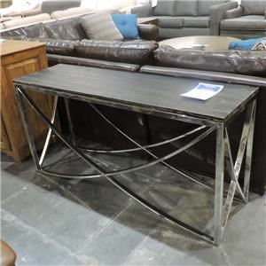 Miscellaneous Clearance Trapeze Console Table