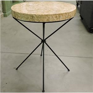 Miscellaneous Clearance Capriz Shell Table
