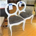 Miscellaneous Clearance White Accent Chair - Item Number: 314875404