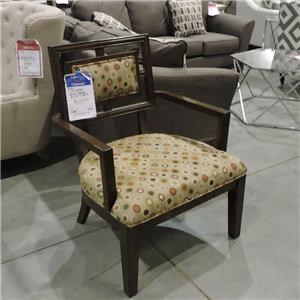 Miscellaneous Clearance Wood Frame Accent Chair