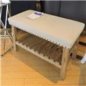 Miscellaneous Clearance Linen Top Bench - Item Number: 404775751