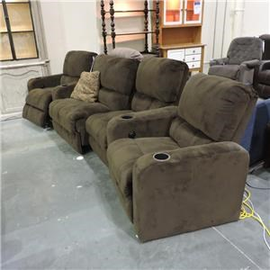Miscellaneous Clearance Power Reclining Sectional