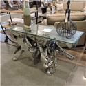Miscellaneous Clearance Silver Root Console - Item Number: 472507851