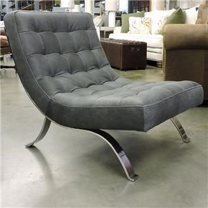 Miscellaneous Clearance Modern Leather Accent Chair