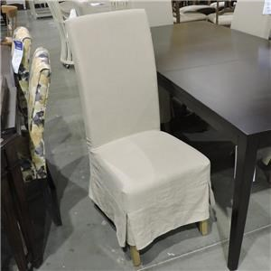 Miscellaneous Clearance Linen Parsons Side Chair