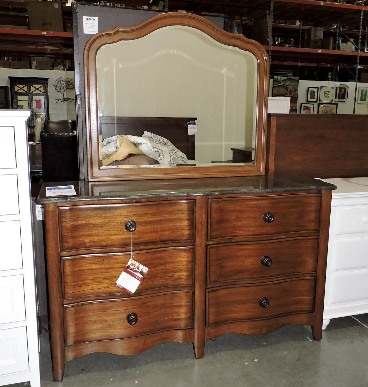 Miscellaneous     Dresser and Mirror - Item Number: 704123716