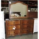 Miscellaneous Clearance Dresser and Mirror - Item Number: 704123716