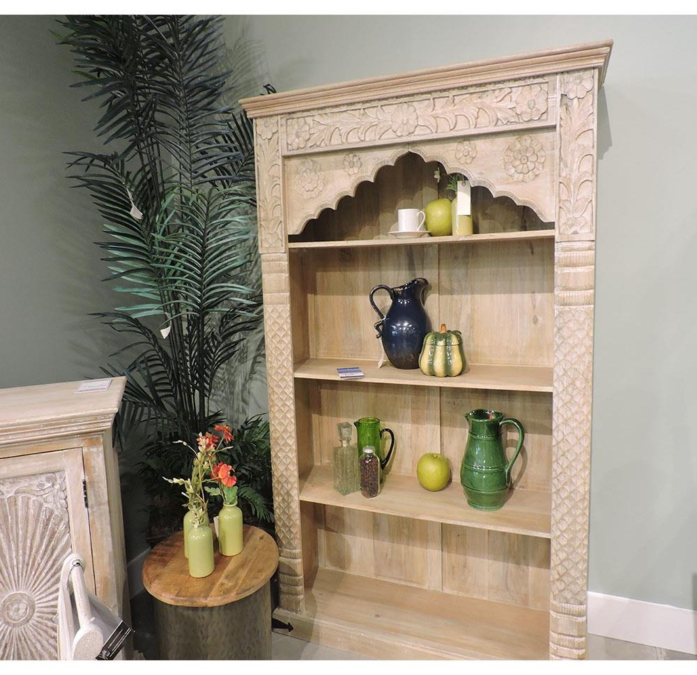 Clearance Carved Bookcase at Belfort Furniture