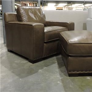 Miscellaneous Clearance Leather Arm Chair