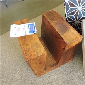 Mango Wood Magazine Table