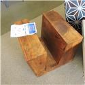 Miscellaneous Clearance Mango Wood Magazine Table - Item Number: 975895833