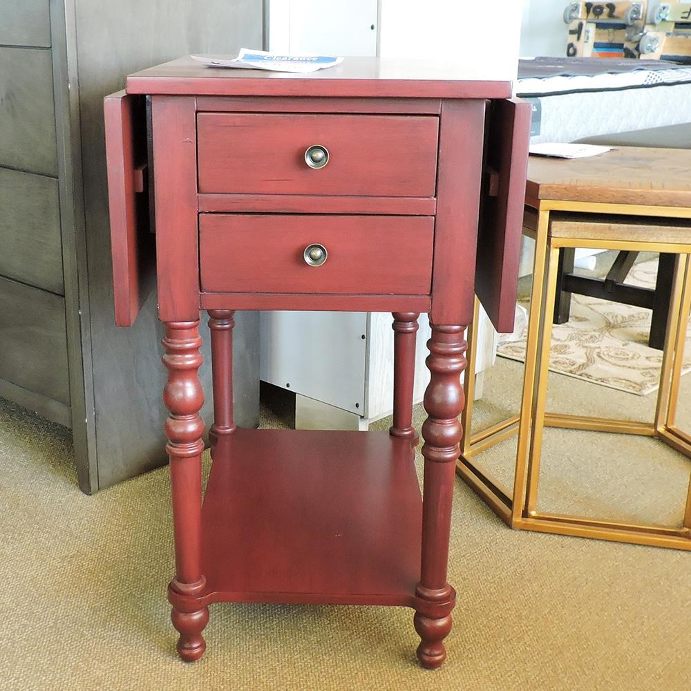 Dropleaf Accent Table