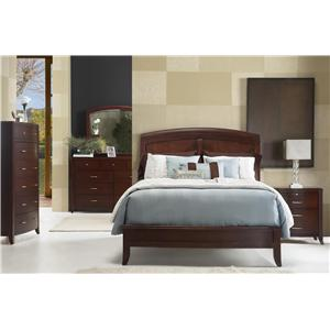 Modus International Brighton Four Piece Queen Bedroom