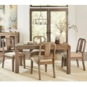 Modus International Acadia 5-Piece Dining Table Set - Item Number: GHCL60+4x63