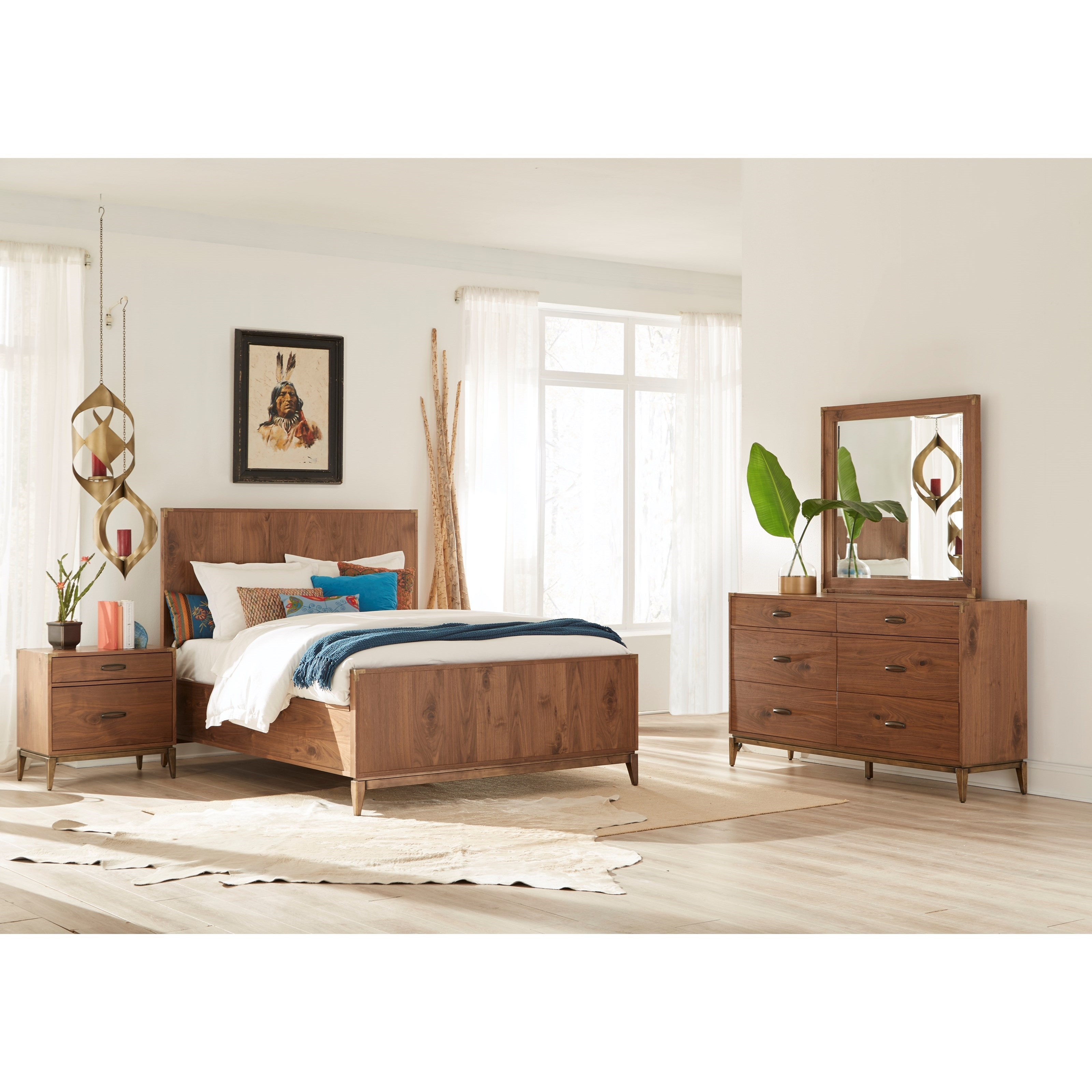 Adler King Bedroom Group at Sadler's Home Furnishings