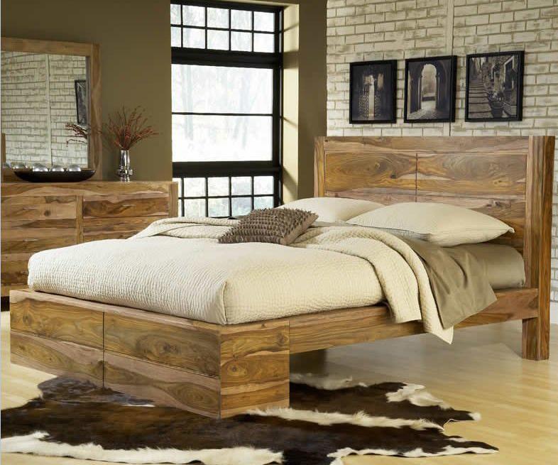 Modus International Atria Queen Panel Bed - Item Number: 5C40P5