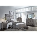 Modus International Austin Full Bedroom Group - Item Number: 9X F Bedroom Group 1