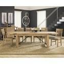Modus International Autumn 7-Piece Dining Table Set - Item Number: 8FM261+6x266