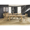 Modus International Autumn Rustic Solid Wood Dining Table