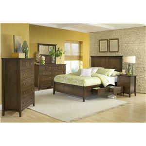 Modus International Penelope King Bedroom Group