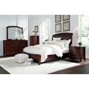Modus International Brighton Twin Bedroom Group - Item Number: BR15 T Bedroom Group 4
