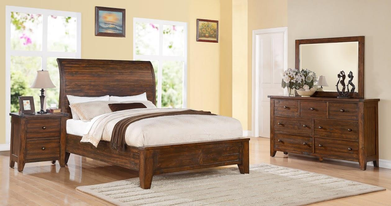 Modus International Cally Queen Low Profile Bed - Item Number: Cally
