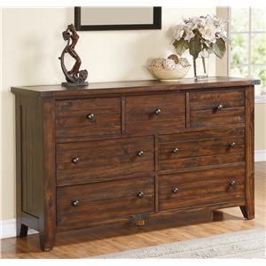 Modus International CALLY 7-Drawer Dresser