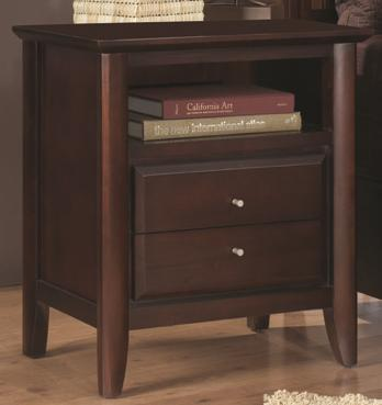 Modus International City II Nightstand with Power Charger - Item Number: 1X5081P