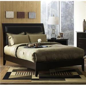 Modus International City II Low Profile Sleigh Bed