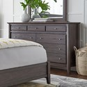 Modus International City II Nine Drawer Dresser - Item Number: 1X5782