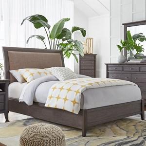 Modus International City II California King Low Profile Sleigh Bed