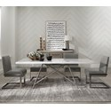 Modus International Coral 5-Piece Dining Table Set - Item Number: 3N2560+4x3N2563