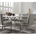 Modus International Coral 7-Piece Dining Table Set - Item Number: 3N2560+6x3N2563
