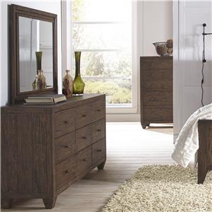 Modus International Corinth Dresser and Mirror