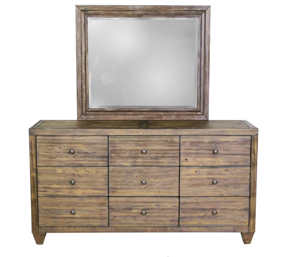 Modus International Corinth 9 Drawer Dresser - Item Number: 7W 80 82 Cornith