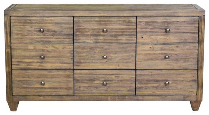 Corinth 9 Drawer Dresser by Modus International at HomeWorld Furniture