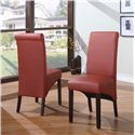 Modus International Cosmo Dining Dining Sleigh Back Chair - 3L9266 - Sienna Upholstery