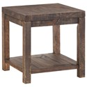 Modus International Craster   Reclaimed Wood Side Table - Item Number: 8S3922