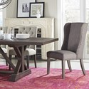 Modus International Crossroads Cameron Solid Wood Table Set with Bench - Item Number: 9KT561C+591C+2x8PH366X+2x8PL766K