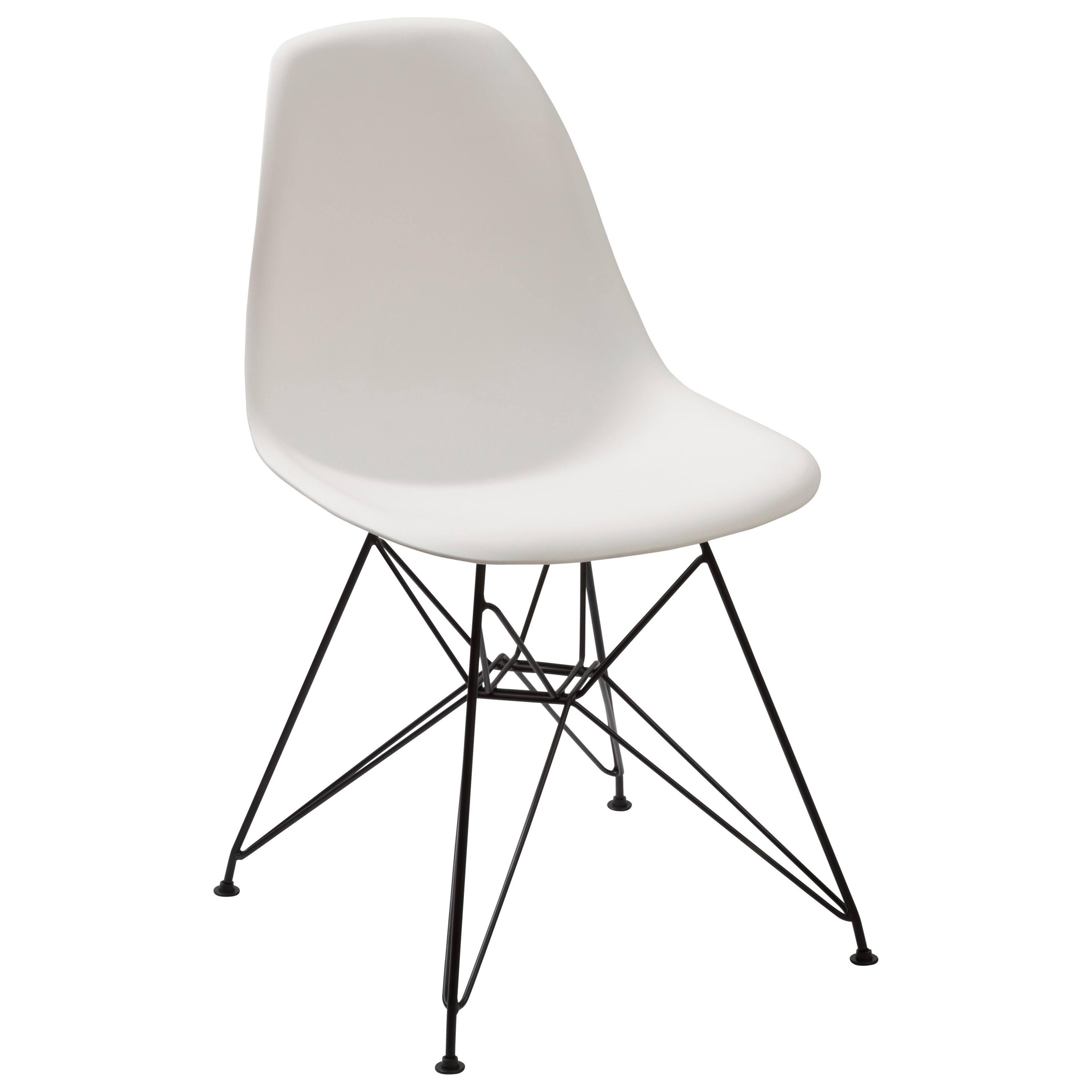 Rostock Molded Plastic Wire Base Chair